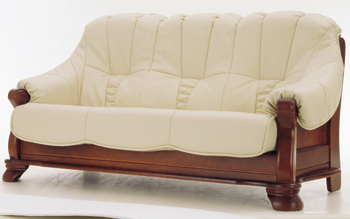 Link toEuropean-style leather sofa -3 3d model