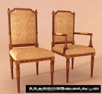 Link toEuropean-style luxury wooden 3d model