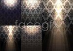 Link toEuropean-style shaded background vector