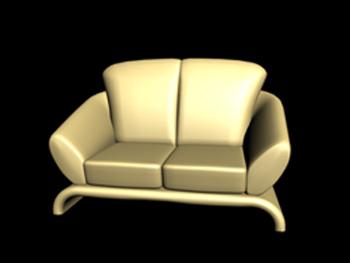 Link toEuropean-style single sofa 3d model