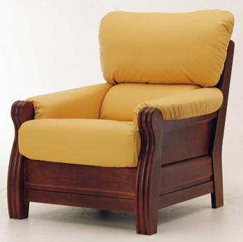 Link toEuropean-style single yellow sofa 3d model