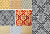 Link toEuropean-style tiled background pattern vector