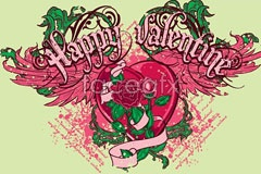 Link toEuropean-style valentine's day illustration vector