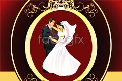 Link toEuropean-style weddings wedding border pattern vector