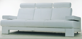 Link toEuropean style white simple sofa 3d model