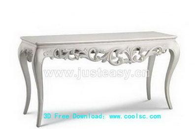 Link toEuropean table, 3d model (including materials)