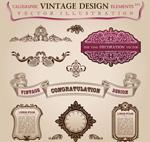 Link toEuropean vintage lace vector