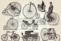 Link toEuropean vintage transport vector 1