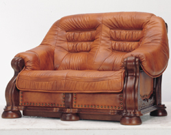 Link toEuropean wood bottom carved cowhide double sofa 3d models (including material)