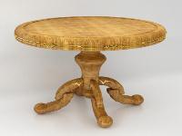 Link toEuropean wooden coffee table 3d model