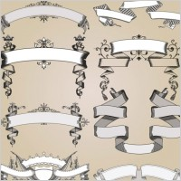 Link toEuropeanstyle lace pattern 04 vector
