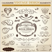 Link toEuropeanstyle lace pattern elements 01 vector