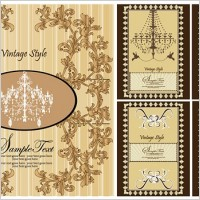 Link toEuropeanstyle lace pattern vector