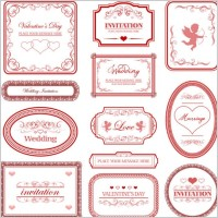 Link toEuropeanstyle love pattern border vector
