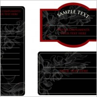 Link toEuropeanstyle simple patterns invitation card 03 vector