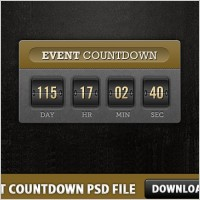 Link toEvent countdown free psd file