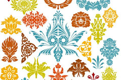 Link toExcellent decoration patterns vector