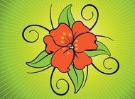 Link toExotic flower vector free