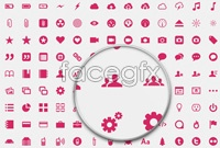 Link toExquisite and practical icons collection vector