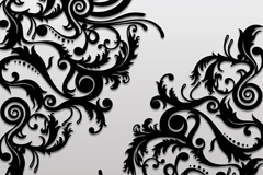 Link toExquisite black diagonal background pattern vector