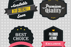 Link toExquisite black sale tag vector