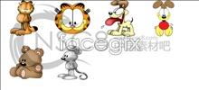 Link toExquisite cartoon animal icons