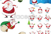 Link toExquisite cartoon santa vector