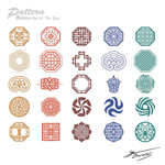 Link toExquisite carved patterns vector