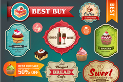 Link toExquisite catering tag vector