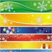Link toExquisite christmas banner vector