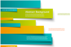 Link toExquisite color strip vector background