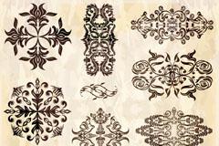 Link toExquisite decorative pattern design vector