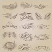 Link toExquisite decorative patterns 05 vector