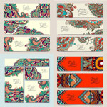 Link toExquisite ethnic patterns vector