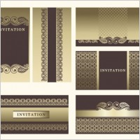 Link toExquisite europeanstyle pattern background 04 vector