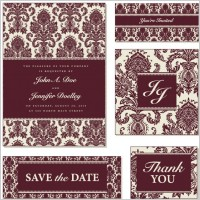 Link toExquisite europeanstyle pattern background 05 vector