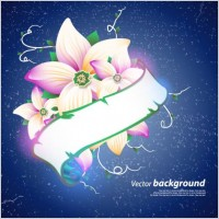 Link toExquisite floral design background 04 vector