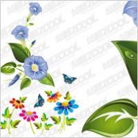 Link toExquisite flowers vector material
