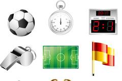 Link toExquisite football design elements vector