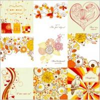 Link toExquisite handpainted patterns 01 vector