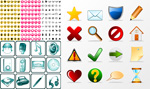 Link toExquisite icon collection vector