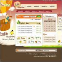 Link toExquisite korean the psd format education website template 002