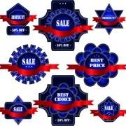 Link toExquisite labels decorative design vector illustration 04