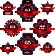 Link toExquisite labels decorative design vector illustration 05