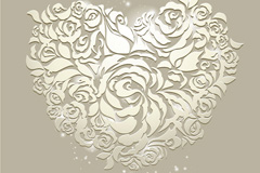 Link toExquisite patterns of love vector