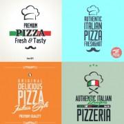 Link toExquisite pizza logos design vector 03 free