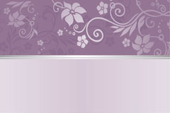 Link toExquisite purple patterned background vector