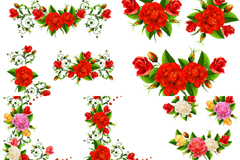 Link toExquisite rose border vector