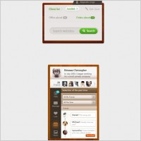 Link toExquisite small interface psd layered