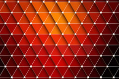 Exquisite stereo triangle mosaic background vector
